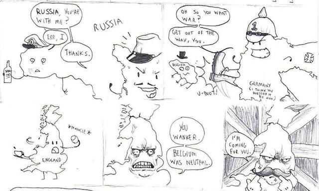 Wwi-Comic