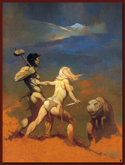 Images Frazetta Cornered
