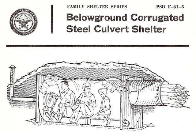 1962 fallout shelter design booklet / Boing Boing
