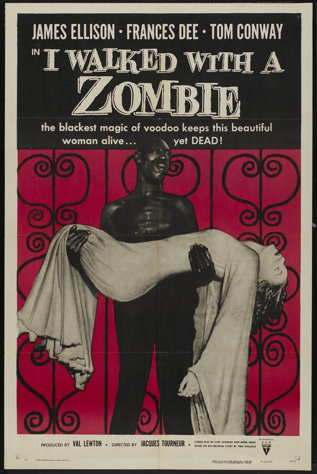 I Walked With Zombie Poster 022
