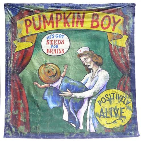 Pumpkin Boy Banner Boing Boing
