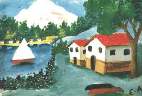 Esref armagan paintings
