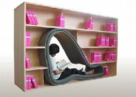 Images Cave-Bookcase 12