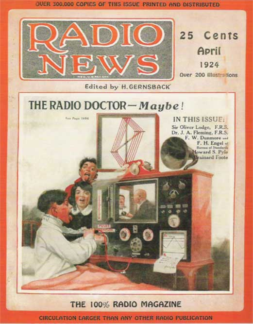 Doctor consults a child via AV media