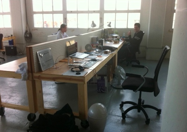 Tuneup S New Office Smart 2x4 And Pegboard Desks Boing