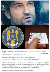 Postarea virala a MAI