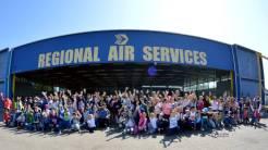 Aeroportul din Tuzla. FOTO Regional Air Services