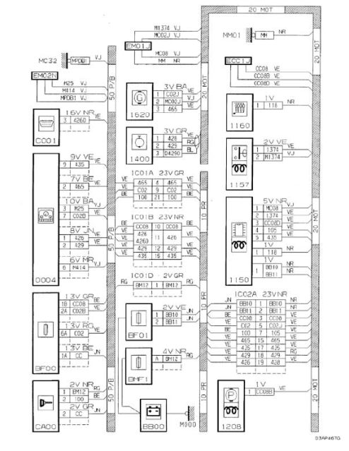 Citroen Mehari Wiring Diagram. citroen 2cv ignition wiring