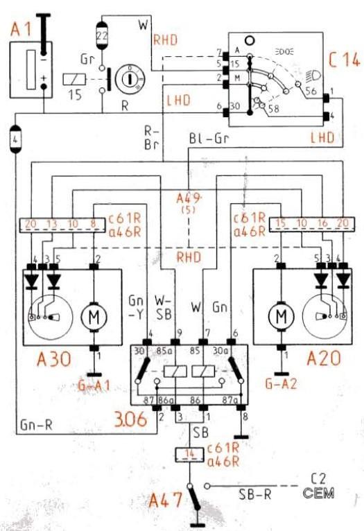 volvo construction schema moteur 206