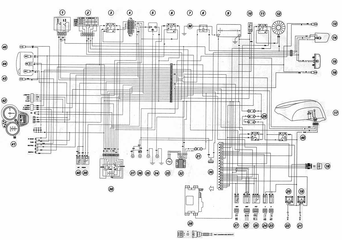 Schema Electrique Honda Cbr 125