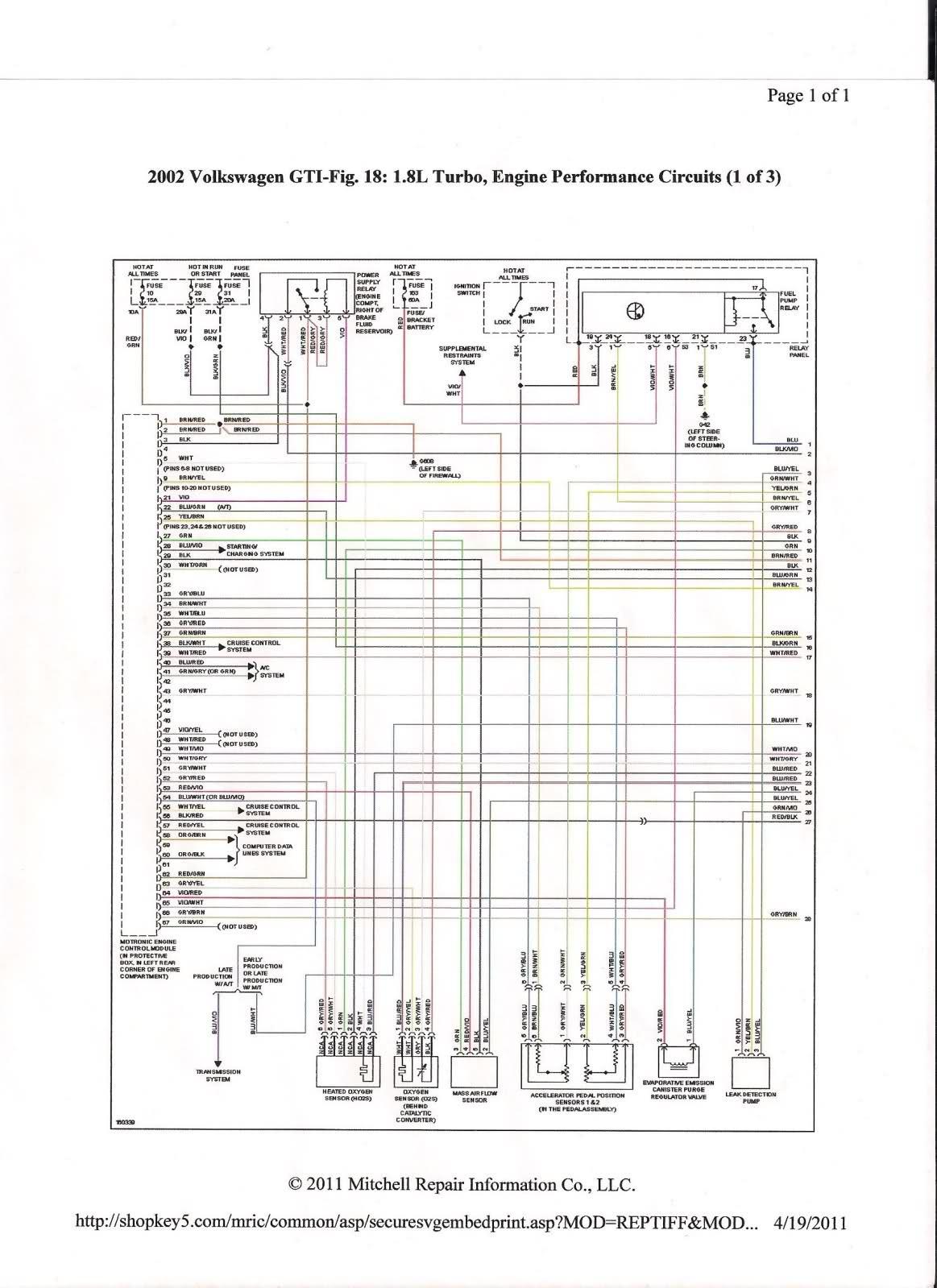 Schema Electrique Passat