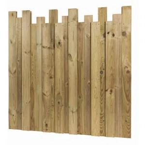 cloture palissade bois exterieur