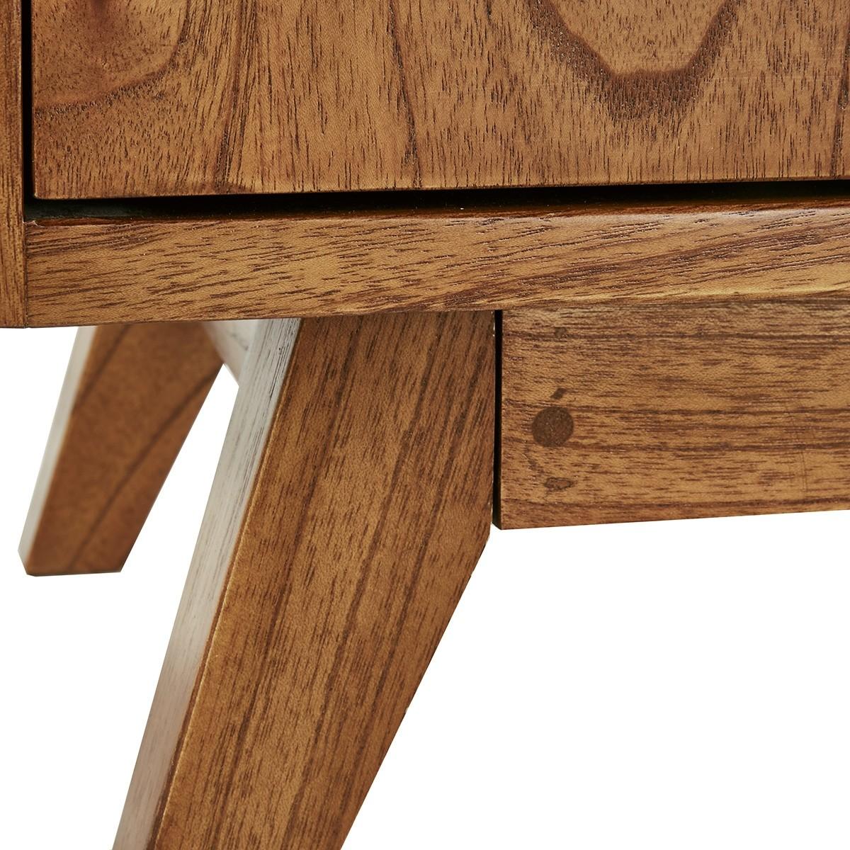 banc d entree vintage en bois de mindy 120 fifties
