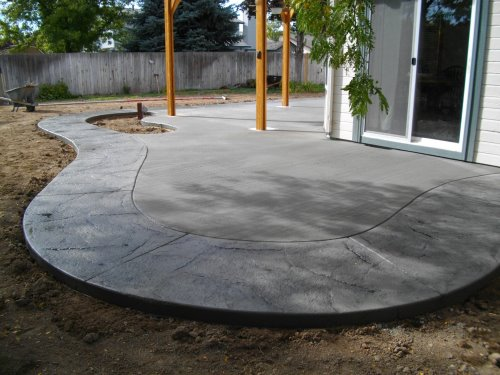 Lenz Custom Concrete Patio Ideas Boise  Stamped Patios