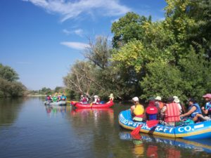 Rafting the Boise River
