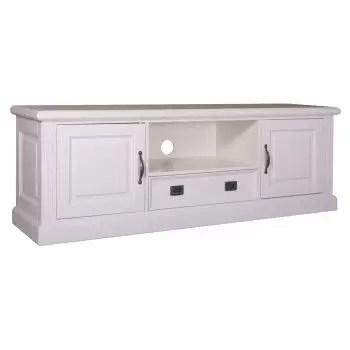 meuble tv 2 portes 1 tiroir romance