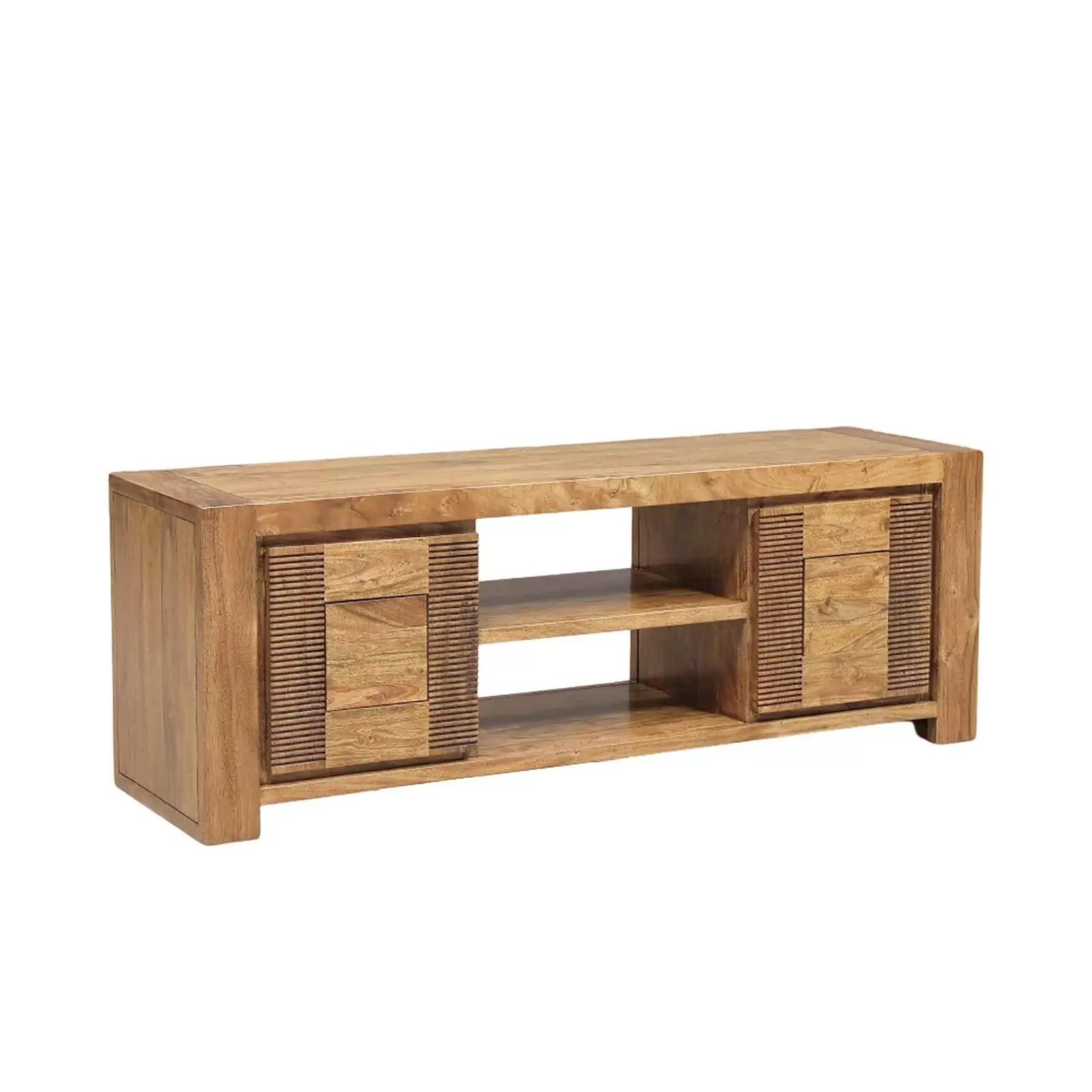 petit meuble tv bois et chiffons