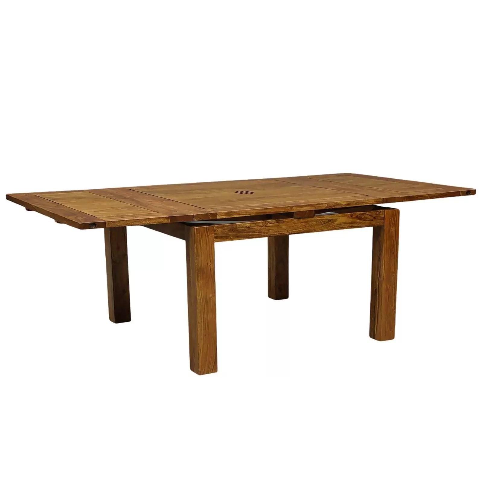 grande table a manger carree allonge 130 acacia gordon
