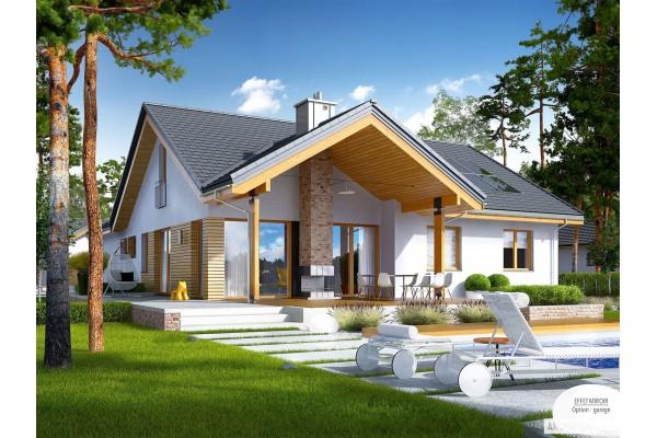 maison en bois type chalet kit a ossature bois plan simon 3 5 chambres 125 m