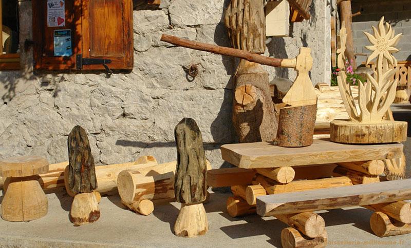 jardin fabrique en bois