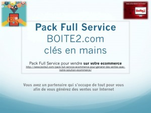 Pack Full Service ecommerce