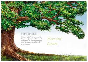 Couverture mois de septembre: Mon ami l'arbre