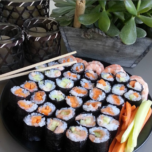 Makis de konjac : recette de Light to me