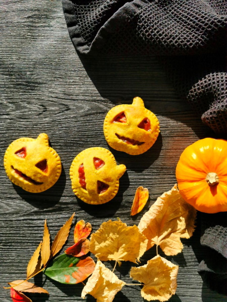 Mini tourtes d'Halloween