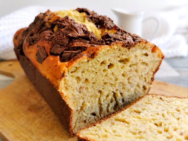 Banana bread au levain naturel
