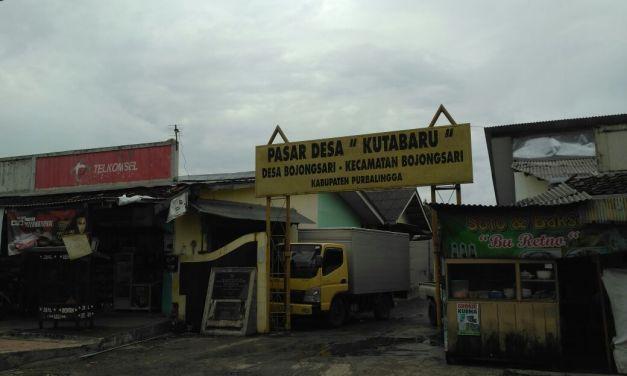 Pasar Kutabaru Desa Bojongsari
