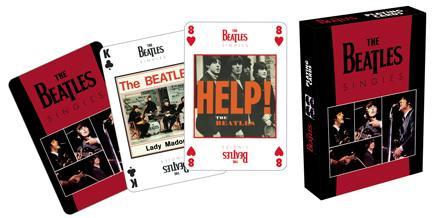 Beatles Singles Card Deck