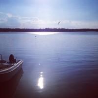 Juni - ute på sjön