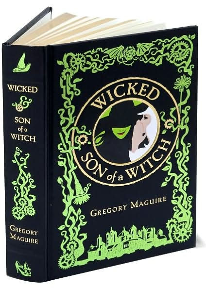 Wicked och Son of a witch av Gregory Maguire