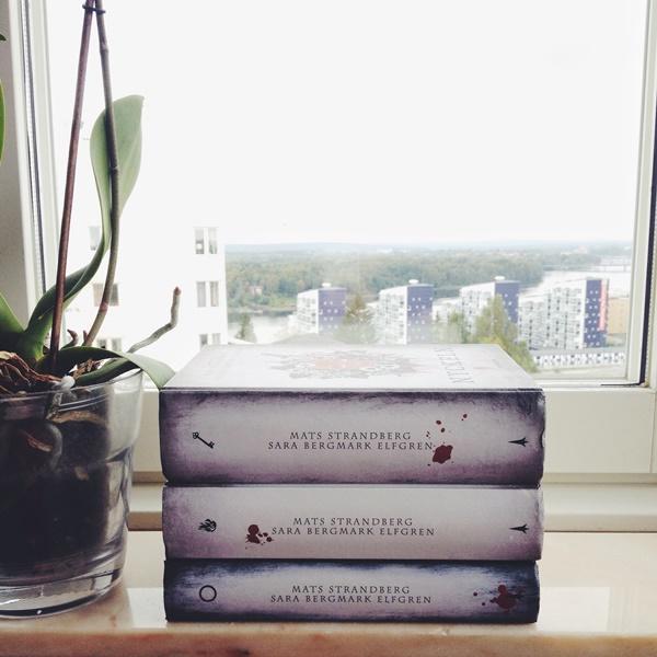 Engelsforstrilogin av Mats Strandberg och Sara Bergmark Elfgren