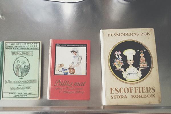 Kokfrån från Göteborgs skolkök, Billig mat och Escoffiers stora kokbok