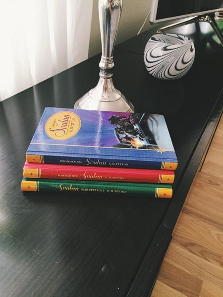 Svalanböckerna av K.M. Peyton