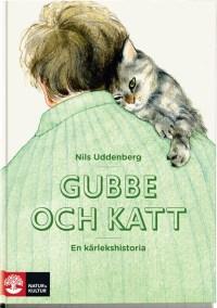 Gubbe och katt av Nils Uddenberg