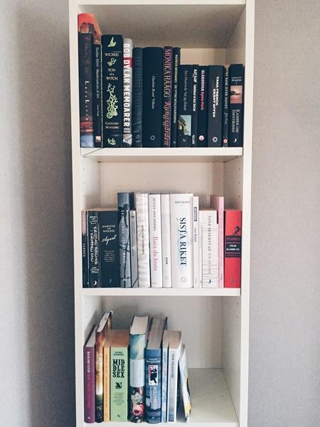 Mina olästa böcker