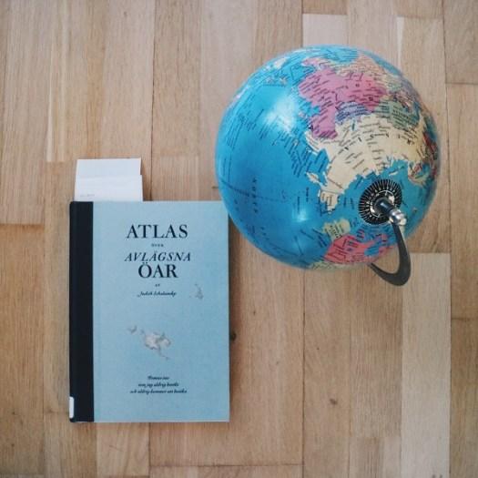 Atlas över avlägsna öar av Judith Schalansky
