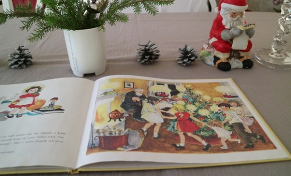 Ur Jul i Bullerbyn av Astrid Lindgren och Ilon Wikland