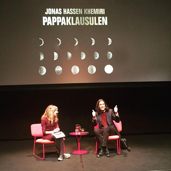 Jonas Hassen Khemiri på Vävenscenen