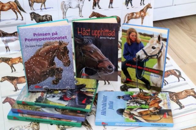 Ponnypenionatet, Julia-böckerna och Häst upphittad