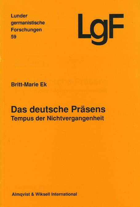 Das deutsche Präsens