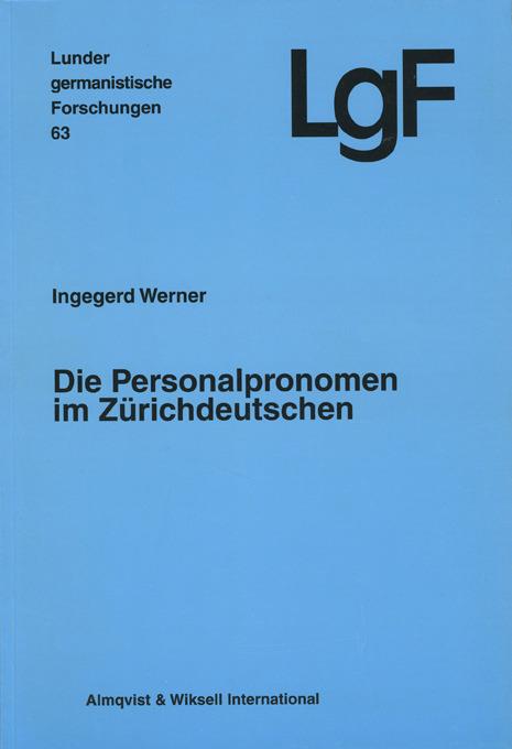 Die Personalpronomen im Zürichdeutschen