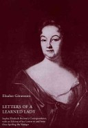 Letters of a Learned Lady