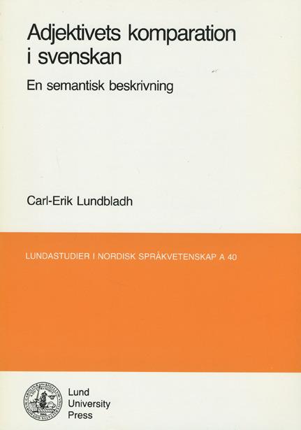 Adjektivets komparation i svenskan