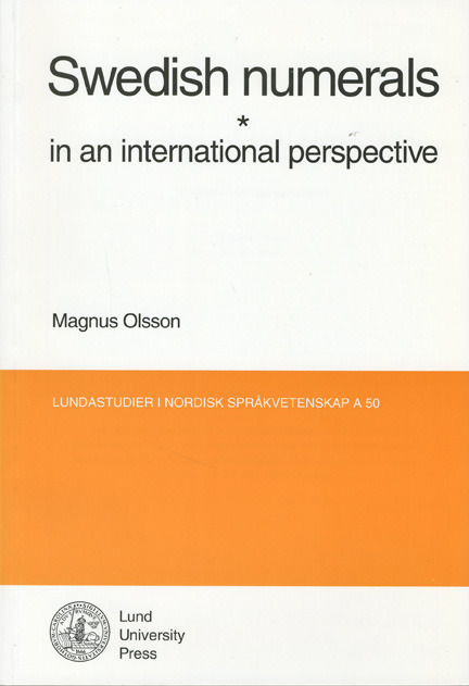 Swedish Numerals in an International Perspective
