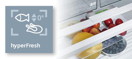 Siemens koelenvriezen hyperfresh
