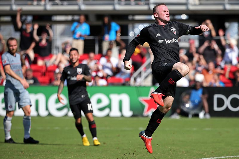 Rooney s 2 goals raise total to 9 as DC United top Fire 2-1 ... 5270c36b6
