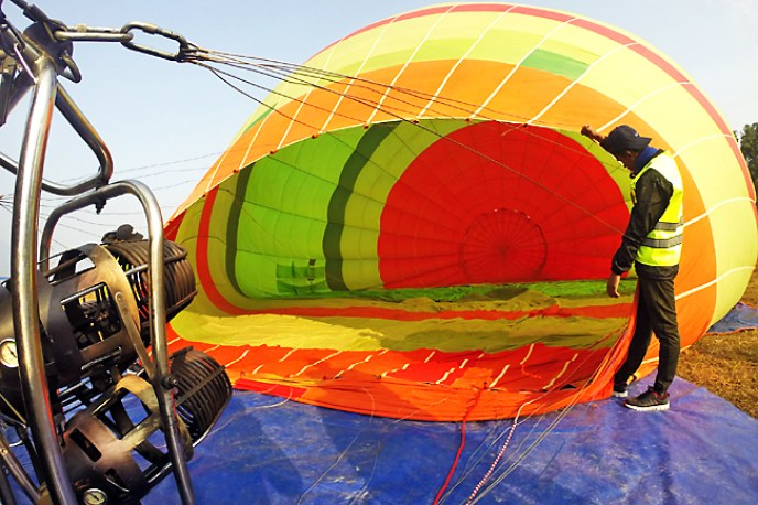 Air Balloon Tourism Pokhara Nepal